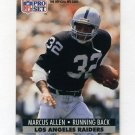 1991 Pro Set Football #541 Marcus Allen - Los Angeles Raiders