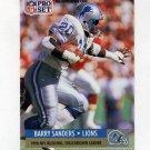 1991 Pro Set Football #010 Barry Sanders - Detroit Lions