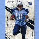 2010 Rookies and Stars Football #145 Vince Young - Tennessee Titans