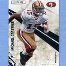 2010 Rookies and Stars Football #127 Michael Crabtree - San Francisco 49ers