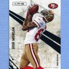2010 Rookies and Stars Football #126 Josh Morgan - San Francisco 49ers