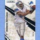 2010 Rookies and Stars Football #047 Brandon Pettigrew - Detroit Lions