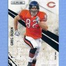 2010 Rookies and Stars Football #024 Greg Olsen - Chicago Bears