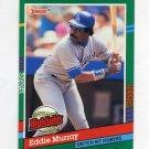 1991 Donruss Baseball Bonus Cards #BC18 Eddie Murray - Los Angeles Dodgers