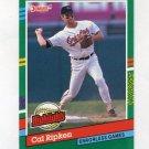 1991 Donruss Baseball Bonus Cards #BC17 Cal Ripken - Baltimore Orioles