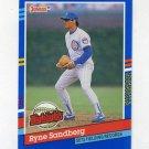 1991 Donruss Baseball Bonus Cards #BC07 Ryne Sandberg - Chicago Cubs