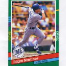 1991 Donruss Baseball #606 Edgar Martinez - Seattle Mariners