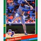 1991 Donruss Baseball #567 Ruben Sierra - Texas Rangers