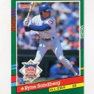 1991 Donruss Baseball #433 Ryne Sandberg AS - Chicago Cubs
