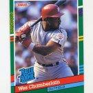 1991 Donruss Baseball #423 Wes Chamberlain RR RC - Philadelphia Phillies