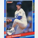 1991 Donruss Baseball #280 Orel Hershiser - Los Angeles Dodgers