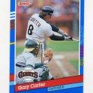 1991 Donruss Baseball #151 Gary Carter - San Francisco Giants