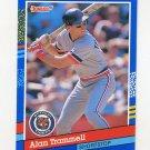 1991 Donruss Baseball #118 Alan Trammell - Detroit Tigers