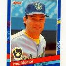 1991 Donruss Baseball #085 Paul Molitor - Milwaukee Brewers