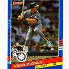 1991 Donruss Baseball #056 Mark McGwire AS - Oakland A's