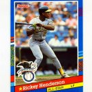 1991 Donruss Baseball #053 Rickey Henderson AS - Oakland A's