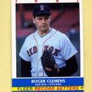 1987 Fleer Record Setters Baseball #04 Roger Clemens - Boston Red Sox