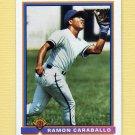 1991 Bowman Baseball #584 Ramon Caraballo RC - Atlanta Braves