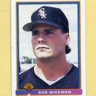 1991 Bowman Baseball #353 Bob Wickman RC - Chicago White Sox