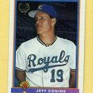 1991 Bowman Baseball #184 Jeff Conine RC - Kansas City Royals