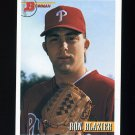 1993 Bowman Baseball #244 Ron Blazier RC - Philadelphia Phillies