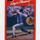 1990 Donruss Baseball #184 Roger Clemens - Boston Red Sox Ex