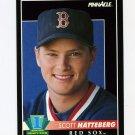 1992 Pinnacle Baseball #569 Scott Hatteberg RC - Boston Red Sox