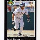 1993 Pinnacle Baseball #619 Darrell Sherman RC - San Diego Padres