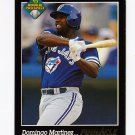 1993 Pinnacle Baseball #596 Domingo Martinez RC - Toronto Blue Jays