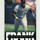 1993 Leaf Baseball Thomas Insert #9 Frank Thomas - Chicago White Sox
