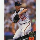 1993 Leaf Baseball #343 Mike Mussina - Baltimore Orioles