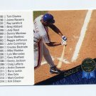 1993 Leaf Baseball #340 Checklist 295-368 Bobby Bonilla - New York Mets
