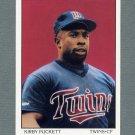 1990 Score Baseball #690 Kirby Puckett DT - Minnesota Twins