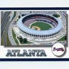 1994 Score Baseball #647 Atlanta Braves Team Checklist
