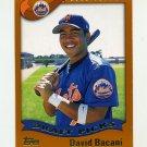 2002 Topps Baseball #694 David Bacani RC - New York Mets