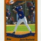 2002 Topps Baseball #693 Josh Barfield RC - San Diego Padres
