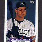 1993 Topps Baseball #644 Dante Bichette - Colorado Rockies