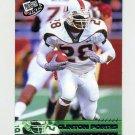 2002 Press Pass Football #017 Clinton Portis - University of Miami