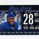 2011 Press Pass Football #031 Dion Lewis