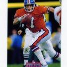 1992 Pro Line Profiles Football #233 John Elway - Denver Broncos NM-M