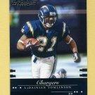 2002 Playoff Prestige Football #121 LaDainian Tomlinson - San Diego Chargers