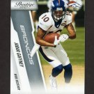 2010 Prestige Football #061 Jabar Gaffney - Denver Broncos