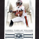 """2007 Donruss Threads Football #124 Carnell """"Cadillac"""" Williams - Tampa Bay Buccaneers"""