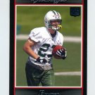 2007 Bowman Football #232 Kyle Steffes RC - New York Jets