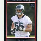 2007 Bowman Football #196 Stewart Bradley RC - Philadelphia Eagles