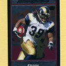 2007 Bowman Chrome Football #BC136 Steven Jackson - St. Louis Rams