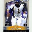 2009 SAGE HIT Football #028 Worrell Williams RC - California Golden Bears
