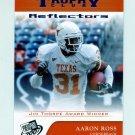 2007 Press Pass Reflectors Blue Football #73 Aaron Ross TC - Texas Longhorns