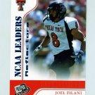 2007 Press Pass Reflectors Blue Football #64 Joel Filani LDR - Texas Tech Red Raiders