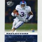 2008 Press Pass Reflectors Blue Football #86 Aqib Talib AA - Kansas